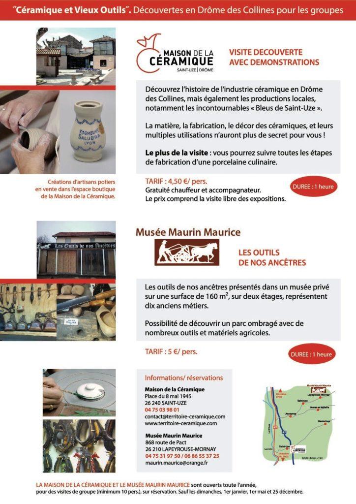 Circuit Maison de la Céramique et Musée des Vieux Outils