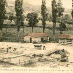 Anciens ateliers de lavage de kaolin à Saint-Barthélémy-de-Vals