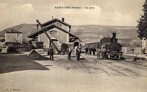Gare de Saint-Uze